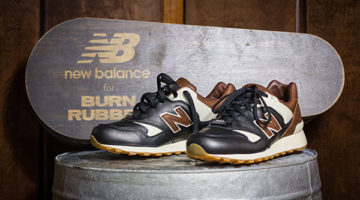 Burn Rubber x New Balance 577