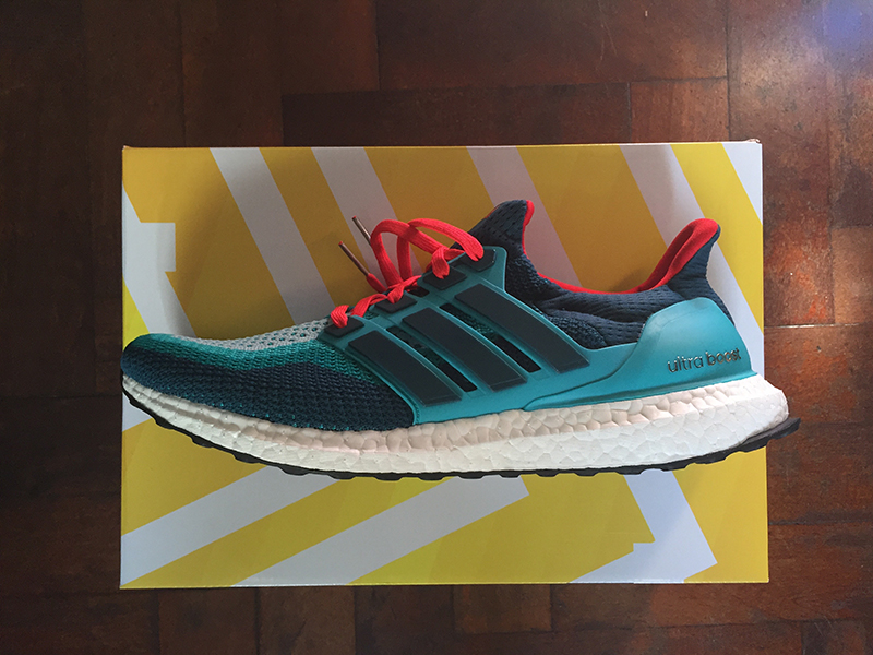 Adidas ultraboost clean green