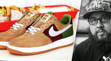 "Nike Air Force 1 ""Burger"" x Dank Customs"