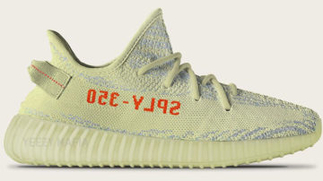 "Yeezy Boost V2 ""Semi-Frozen Yellow"""