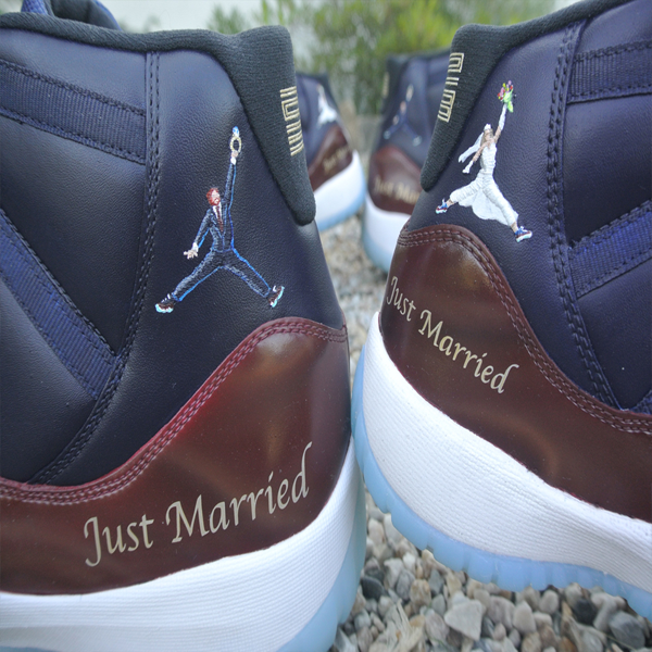 air jordan 11 x wedding