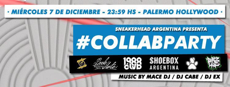 #CollabParty - Fiesta de sneakerheads