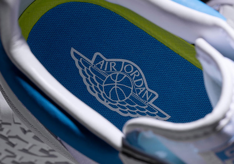 "Air Jordan x Converse Pack - Jordan 2 ""Alumni Game"""