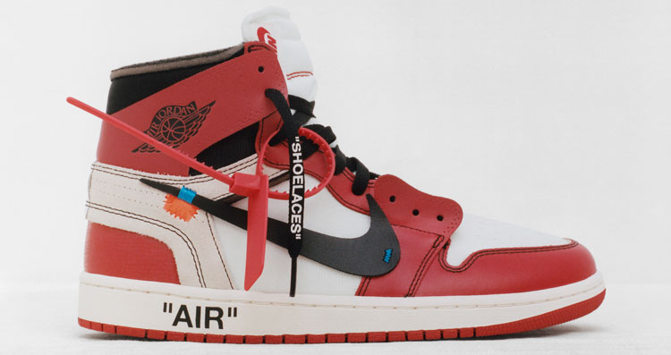 Nike Air Jordan 1 - Virgil Abloh - The Ten