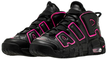 "Nike Air More Uptempo ""Black - Pink"""