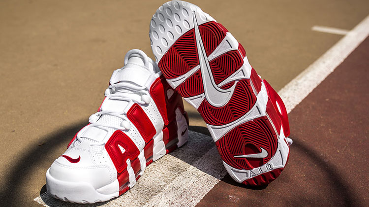 "Nike Air More Uptempo ""Bulls Home"" Gym Red"