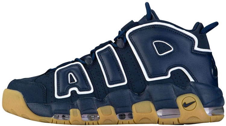 "Nike Air More Uptempo ""Obsidian Gum"""