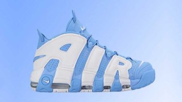"Nike Air More Uptempo ""UNC"""