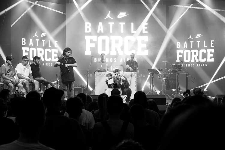 Nike #BattleForce Buenos Aires - Air Force 1s