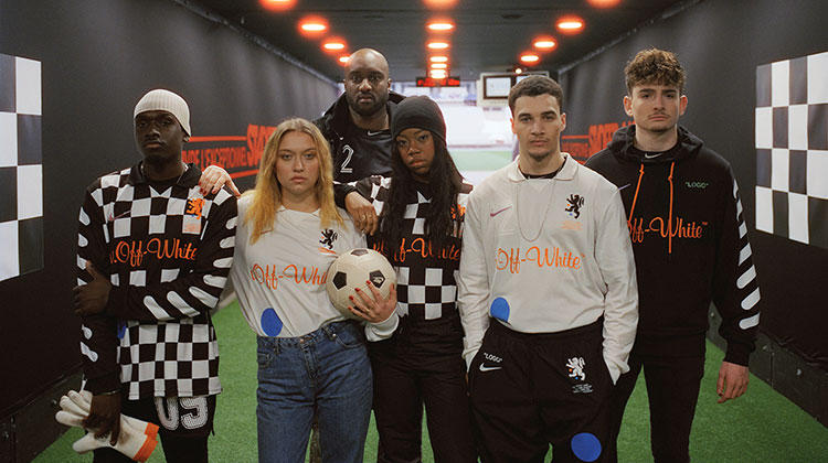 Nike x Virgil Abloh Off-White - Football Mon Amour Collection