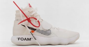 Nike React Hyperdunk - Virgil Abloh - The Ten