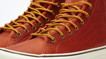 Vans California Sk8-Hi -Binding Leather-