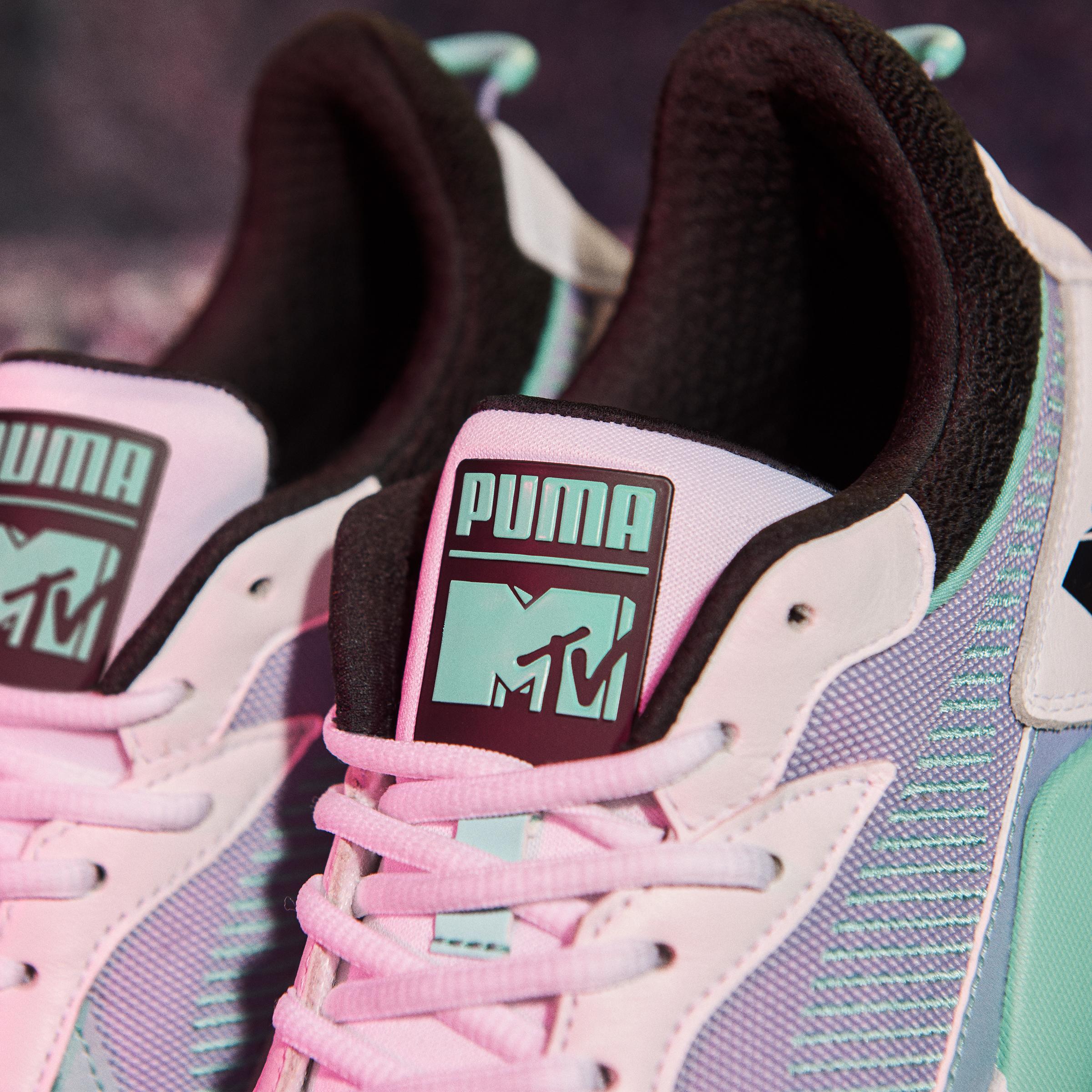 Último Arancel Santuario  Puma se asocia con MTV para reinventar la cultura pop y el estilo callejero  | SneakerHead Argentina