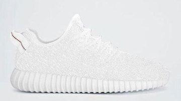 """Adidas Originals Yeezy Boost 350 """"White"""""""