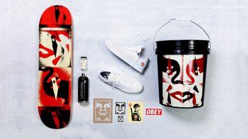 adidas Skateboarding Shepard Fairey Beyond The Streets Samba ADV