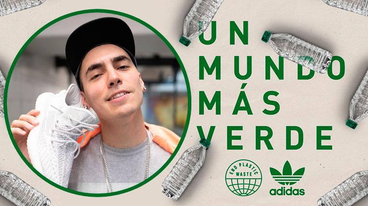"adidas podcas ""Un Mundo más Verde"" con Pluzito"
