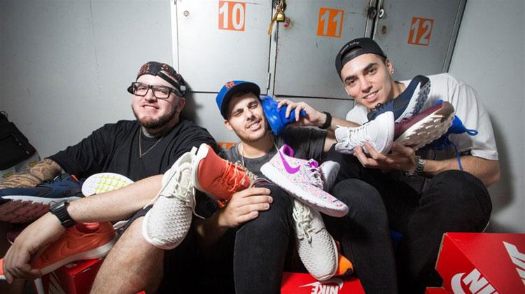 Cazadores de Sneakers (Diario La Nación)