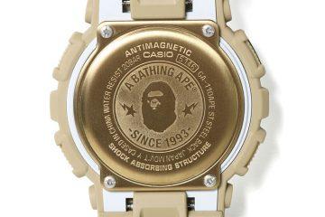 "G-Shock presenta el reloj ""BAPE XXV"" 25TH ANNIVERSARY EXCLUSIVE MODEL"