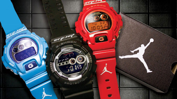 G-Shock x Jordan Brand