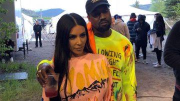 Kanye West y Kim Kardashian - YE Merch Wyoming