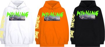 Kanye West - YE Merch Wyoming - hoodie buzo canguro manga larga