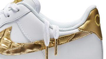 "Nike Air Force 1 CR7 ""Golden Patchwork"" Argentina"