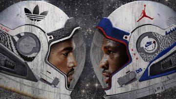 Kanye West Yeezy vs Michael Jordan Brand
