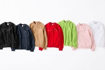 Supreme x Lacoste Spring 2018 Collection