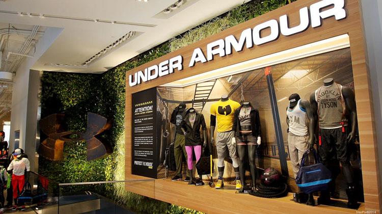 Under Armour llega a Argentina