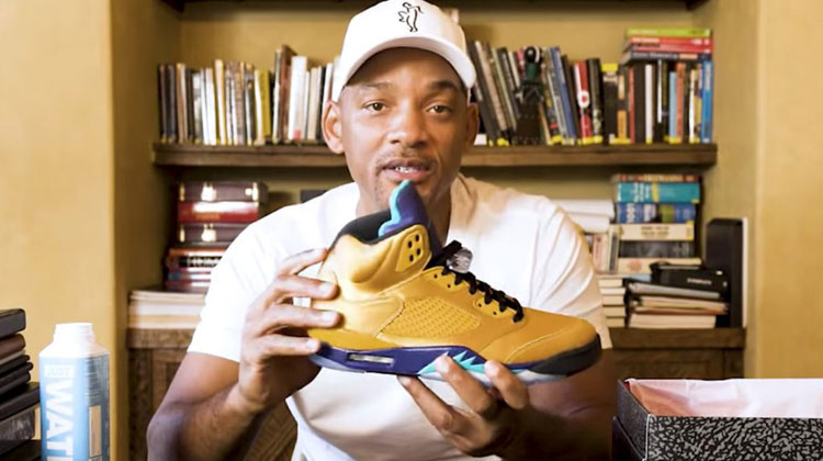"Will Smith x Jordan Brand - Air Jordan V ""Fresh Prince"" Friends and Family"