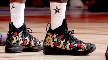 Zapatillas más coloridas en la NBA