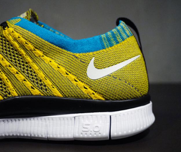 Nike-Free-Flyknit-amarillo-talon