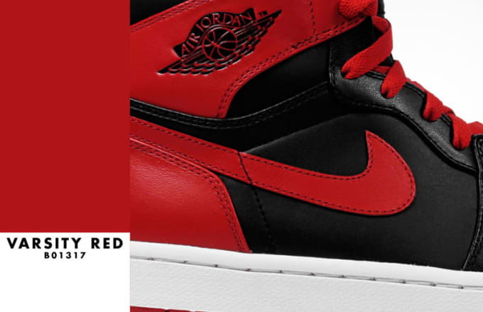 "Air Jordan 1 ""Varsity Red/Black"""