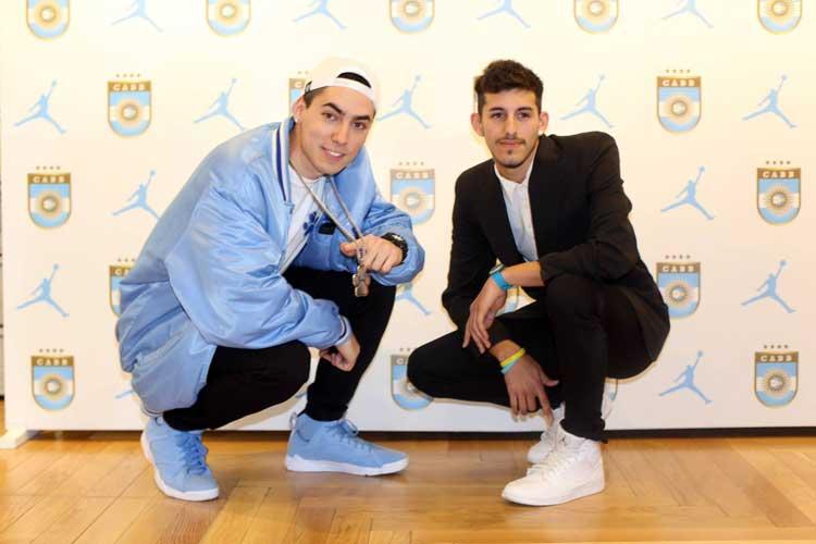 ALe! PLUZ y Leo Sanfurgo (Sneakerhead Argentina x Doggs Basket)