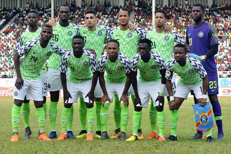 Indumentaria de Nike de Nigeria para el Mundial Rusia 2018