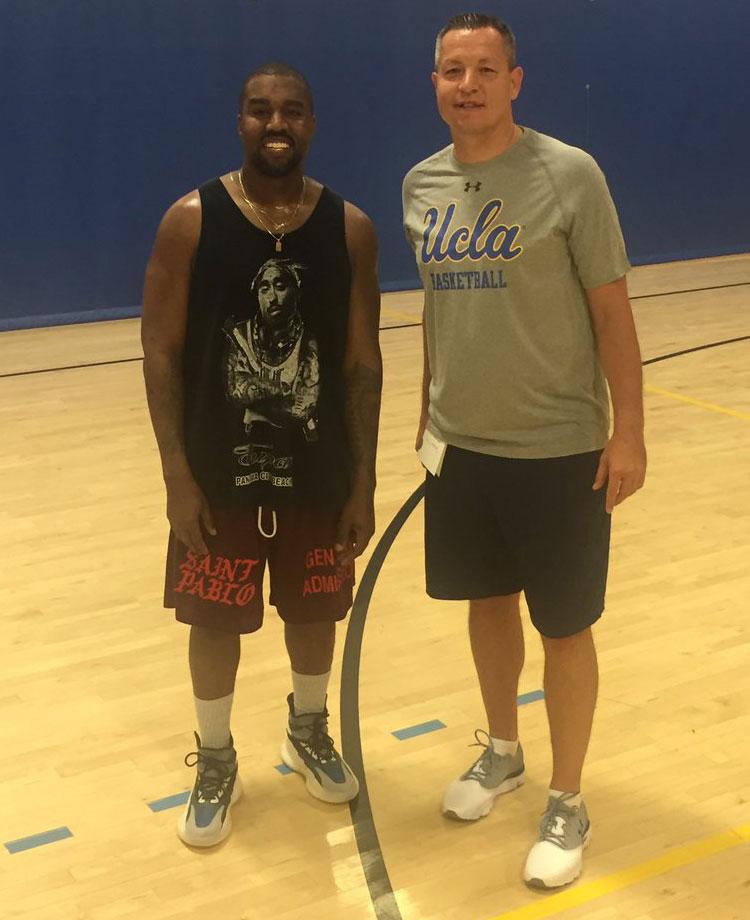 Kanye West y las posibles Yeezy Boost de Basketball