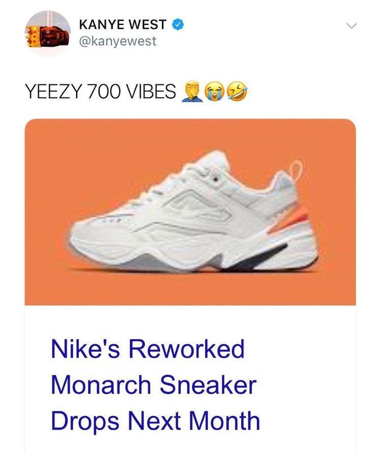 Kanye West ataca a Nike por sus nuevas zapatillas