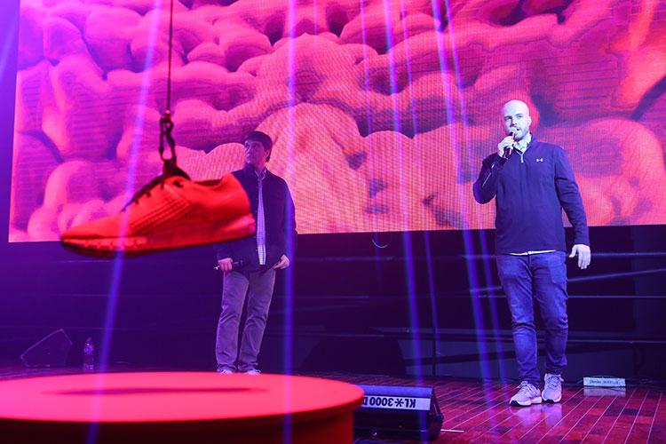 Manuel Ovalle y Juan José Roque en el #NoGravityFest