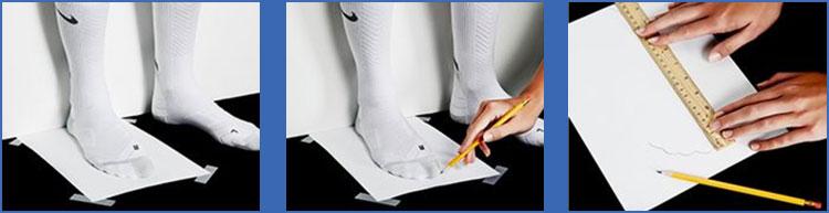 Cómo medir tus pies