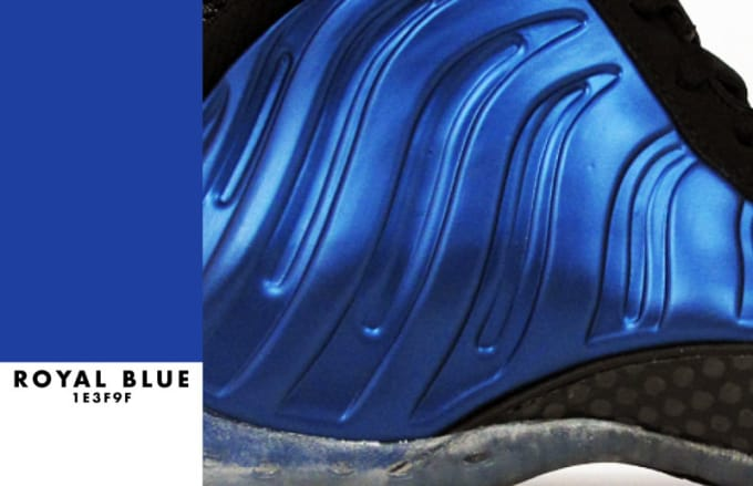 "Nike Air Foamposite One ""Royal Blue"""