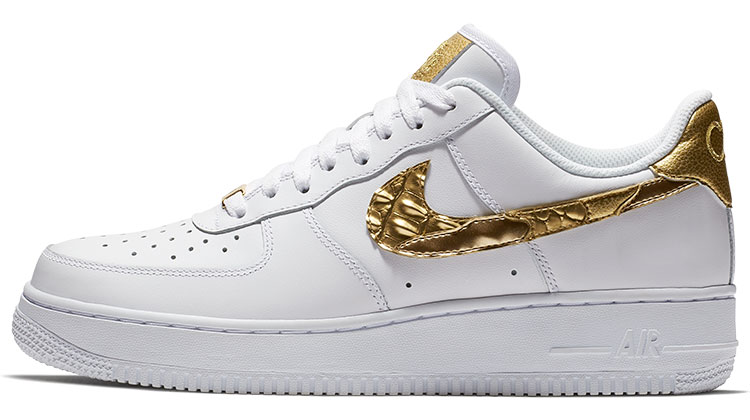 "Nike Air Force 1 CR7 ""Golden Patchwork"" Argentina"