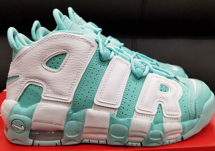 "Nike Air More Uptempo ""Island Green"""