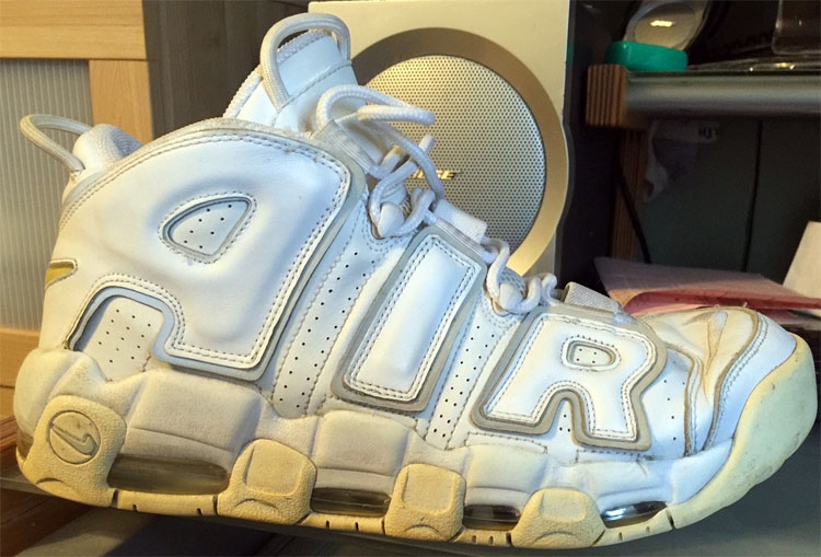 "Nike Air More Uptempo ""White 3M"""