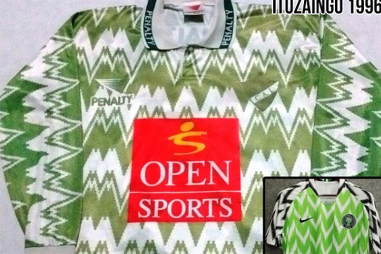 Nike y Nigeria copiaron a Ituzaingó