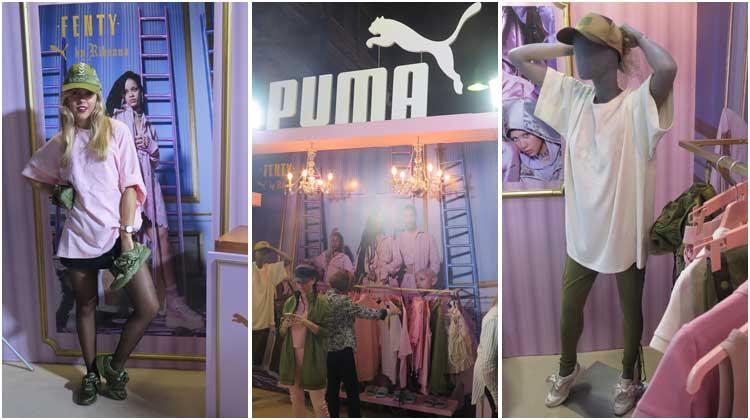 Presentación Puma Fenty by Rihanna en Argentina