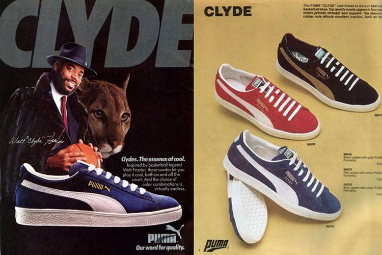 Puma Clyde retro ad
