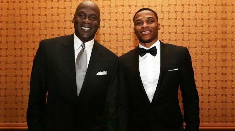 Russell Westbrook Michael Jordan