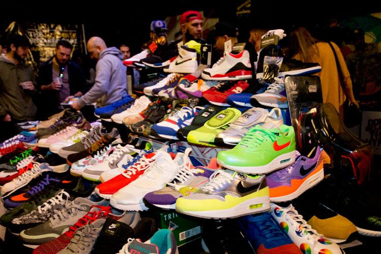 Stands en Sneaker Pimps