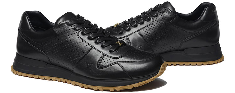 Supreme x Louis Vuitton Run Sneaker - Black
