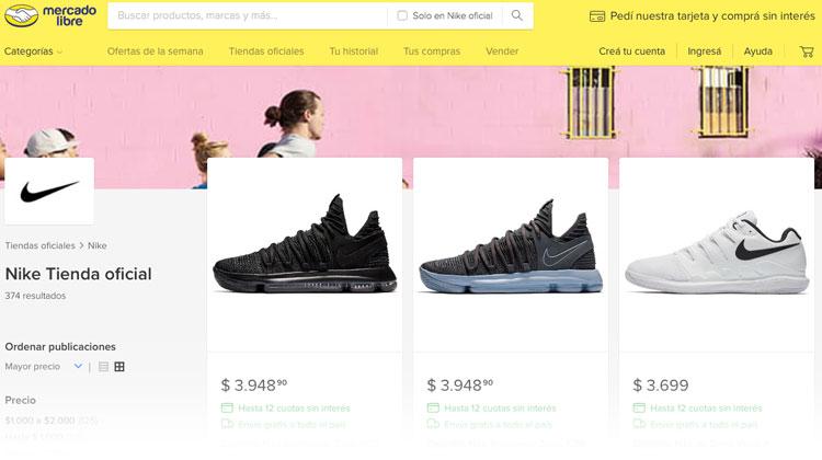 f088cc0b0 Tienda oficial de Nike Argentina Online en Mercado Libre